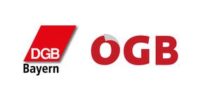 Teaser Logos DGB Bayern & ÖGB
