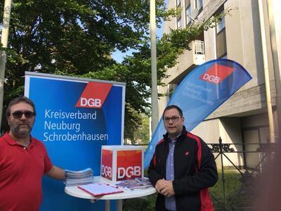 Infostand Schrobenhausen