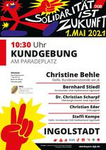 1. Mai 2021 in Ingolstadt