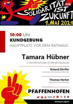 1. Mai in Pfaffenhofen
