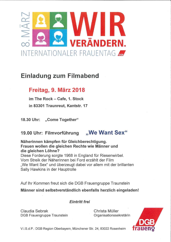 Frauentag 2018 Traunreut