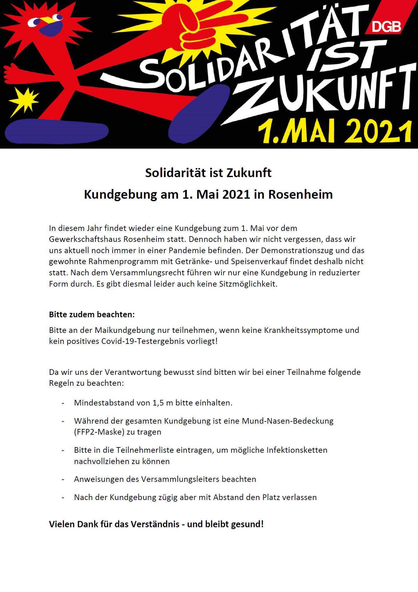 VA Hinweise 1. Mai 2021 RO