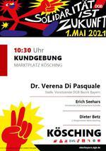 1. Mai 2021 in Kösching