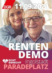 Einladung Rentendemo in Ingolstadt