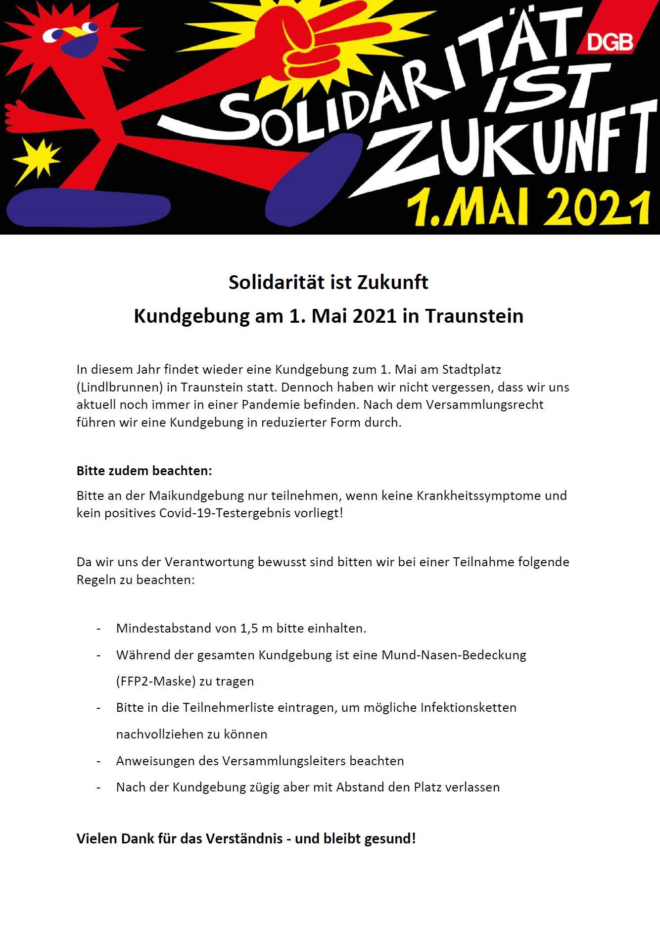 VA Hinweise 1. Mai 2021 TS