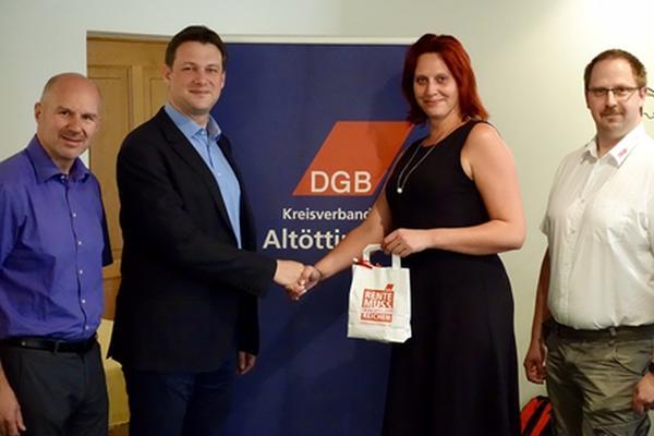 Gespräch mit Bundestagskandidat Tobias Zech