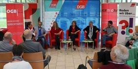 Diskussion Europaveranstaltung Laufen