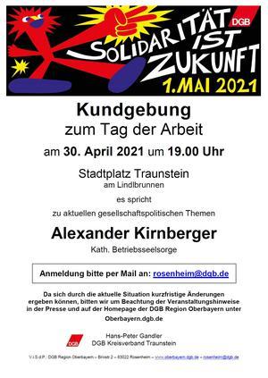 1. Mai Traunstein