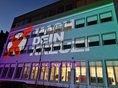 Lichtkunst am Gewerkschaftshaus Rosenheim