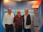 Günter Zellner, Erich Seehars, Burckhard Jurke, Christian De Lapuente